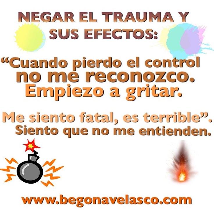 NEGAR EL TRAUMA Y SUS EFECTOS.