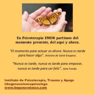 EMDR: LAS SENSACIONES, EMOCIONES Y EL CUERPO.